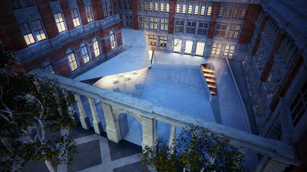 The new openings will ease visitor flow / AL_A and V&A