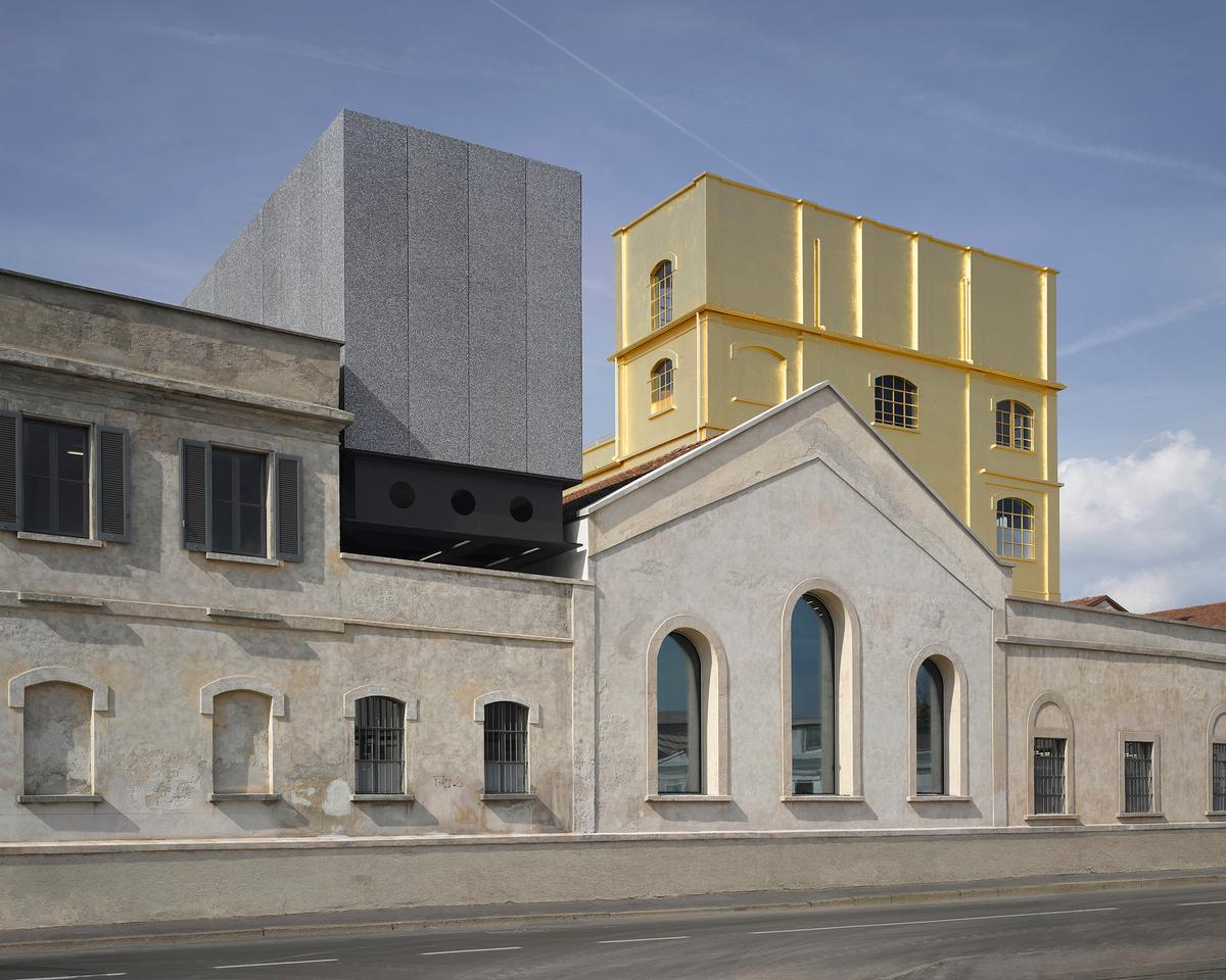 The former industrial complex has been transformed over seven years / Prada Fondazione