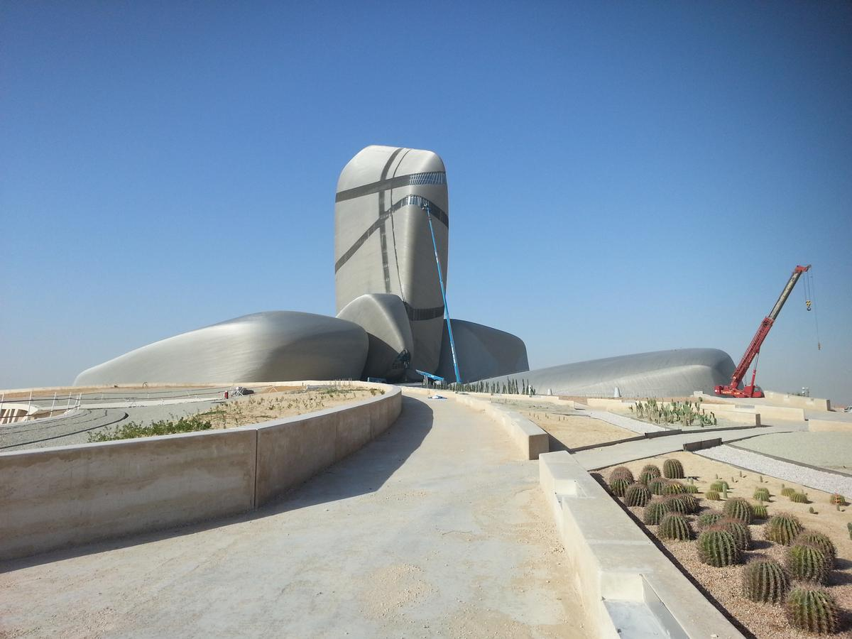 Snøhetta have 'blended extroversion and introversion' in their design / King Abdulaziz Center for World Culture