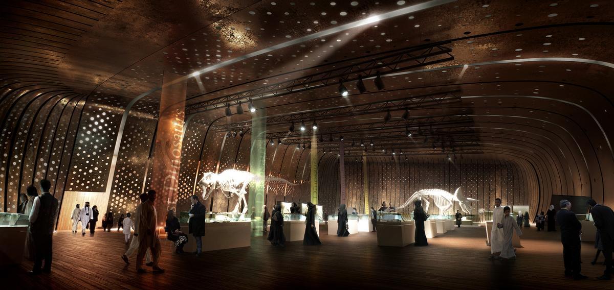 Oil company Saudi Aramco has pledged to create a state-of-the-art cultural facility / Snøhetta