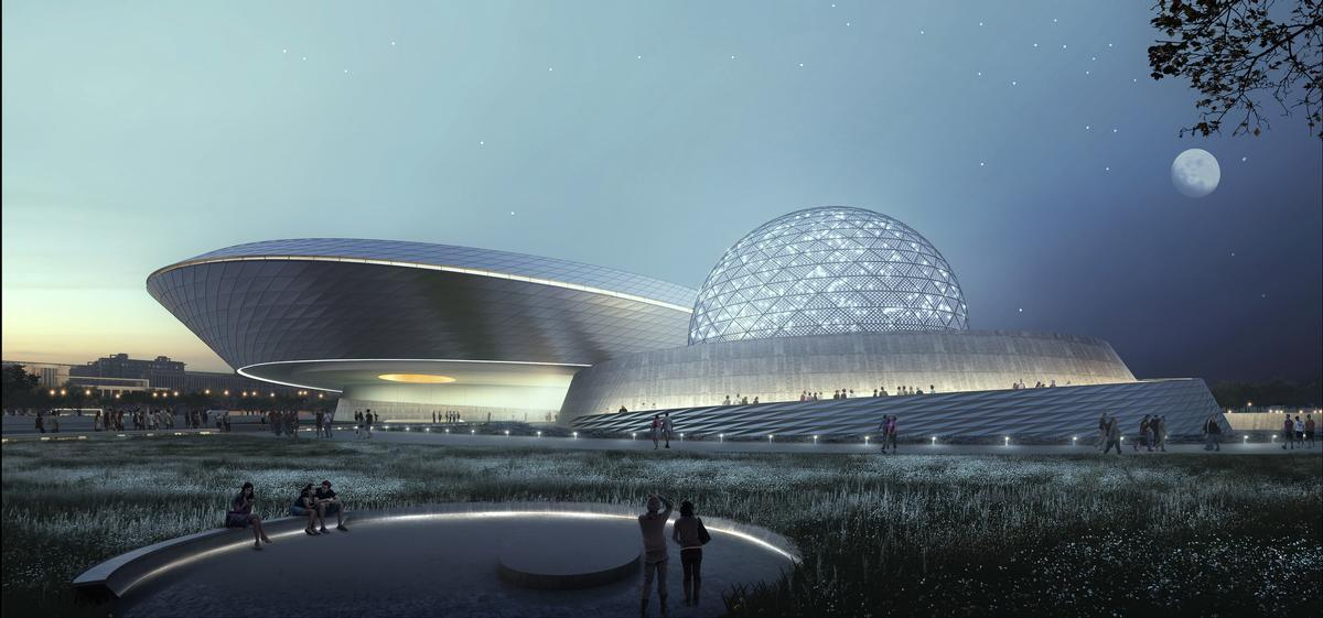 Shanghai Planetarium broke ground in November