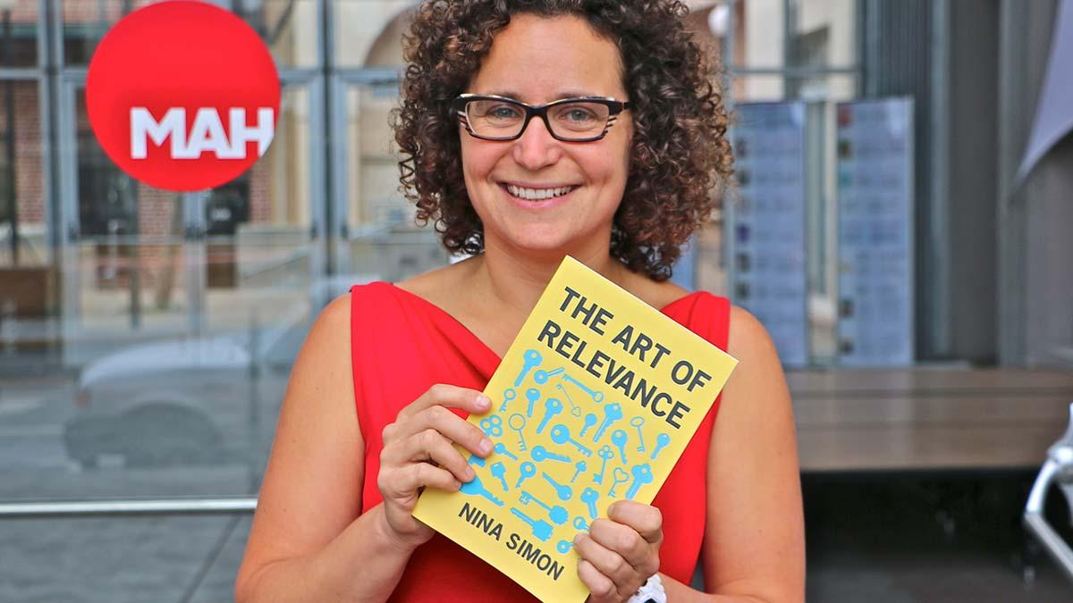 Nina Simon, the author of The Participatory Museum and The Art of Relevance, will also be delivering a keynote for Ecsite 2017