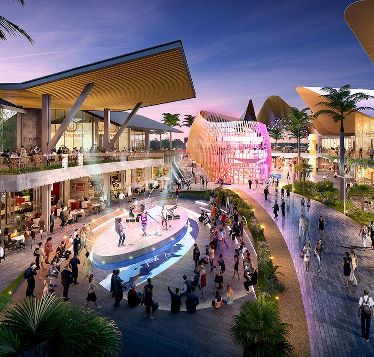 A multitude of indoor and outdoor spaces will host leisure activities / Benoy