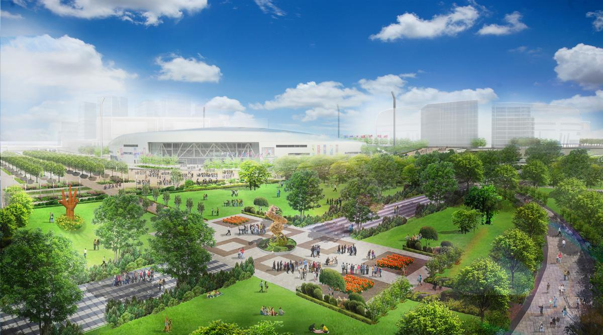 Hong Kong's proposed Kai Tak Sports Park / Kai Tak Sports Park