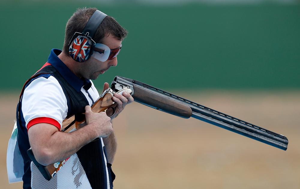 GB's Edward Ling and Steven Scott both won bronze in the shooting event / edward ling / xinhua /sipa usa / PA
