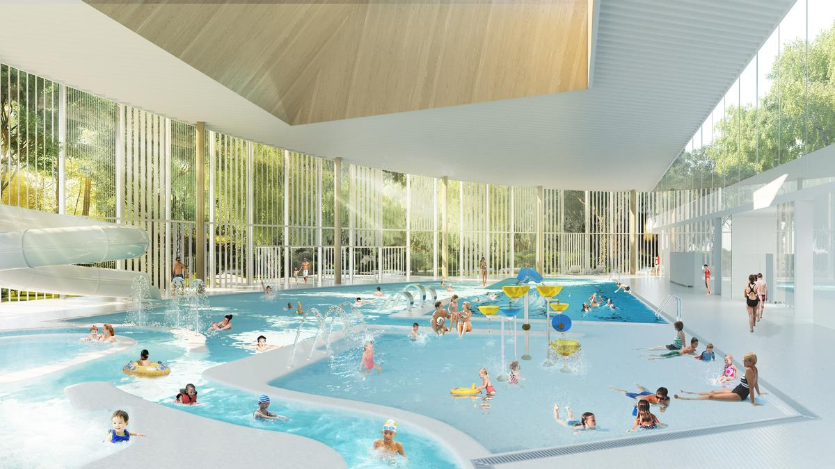 Swimmers will feel like they are outdoors / City of Laval/v2com