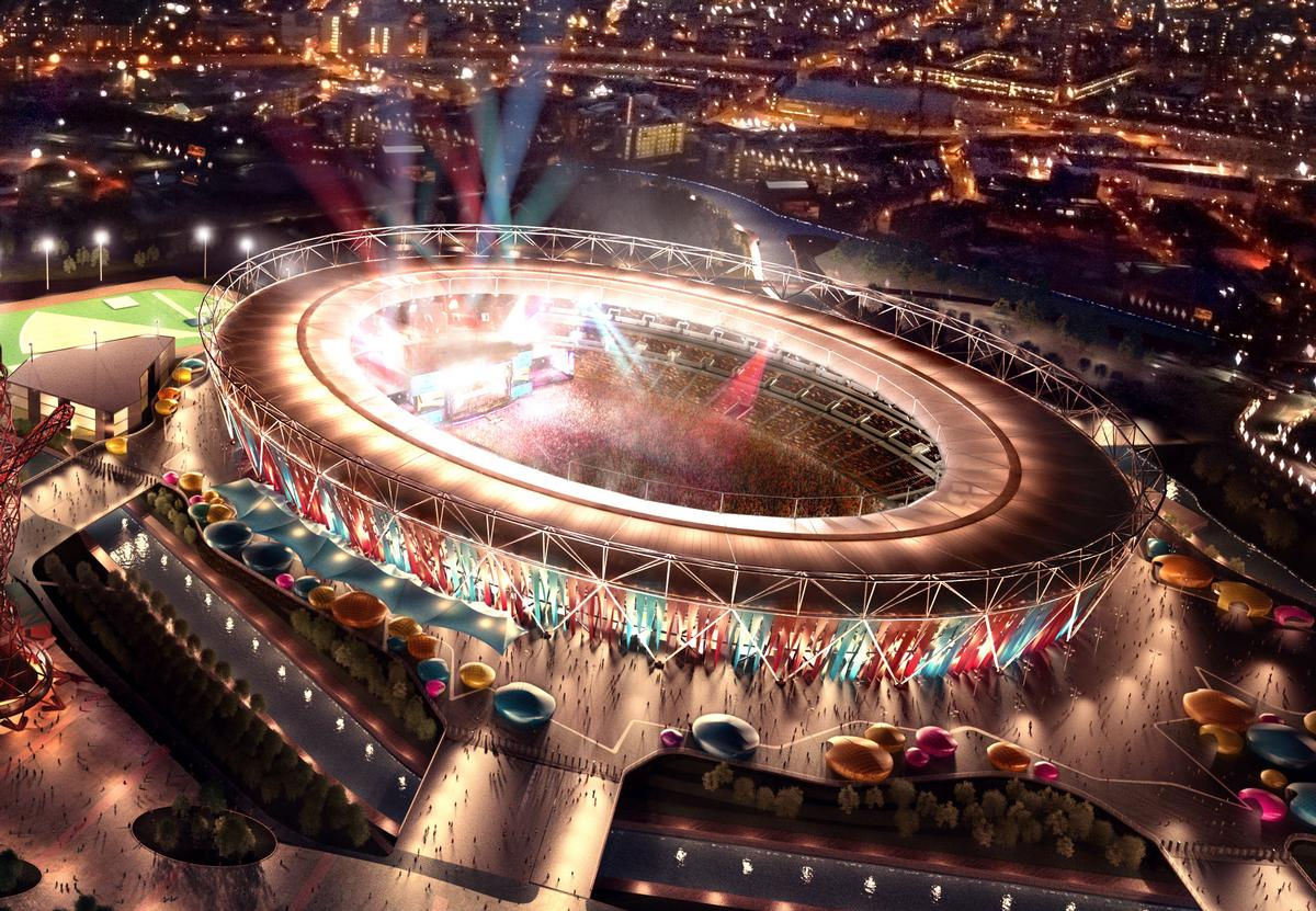 The Olympic Stadium is undergoing a £272m (US$424m, €390m) redevelopment to convert it into a football venue
