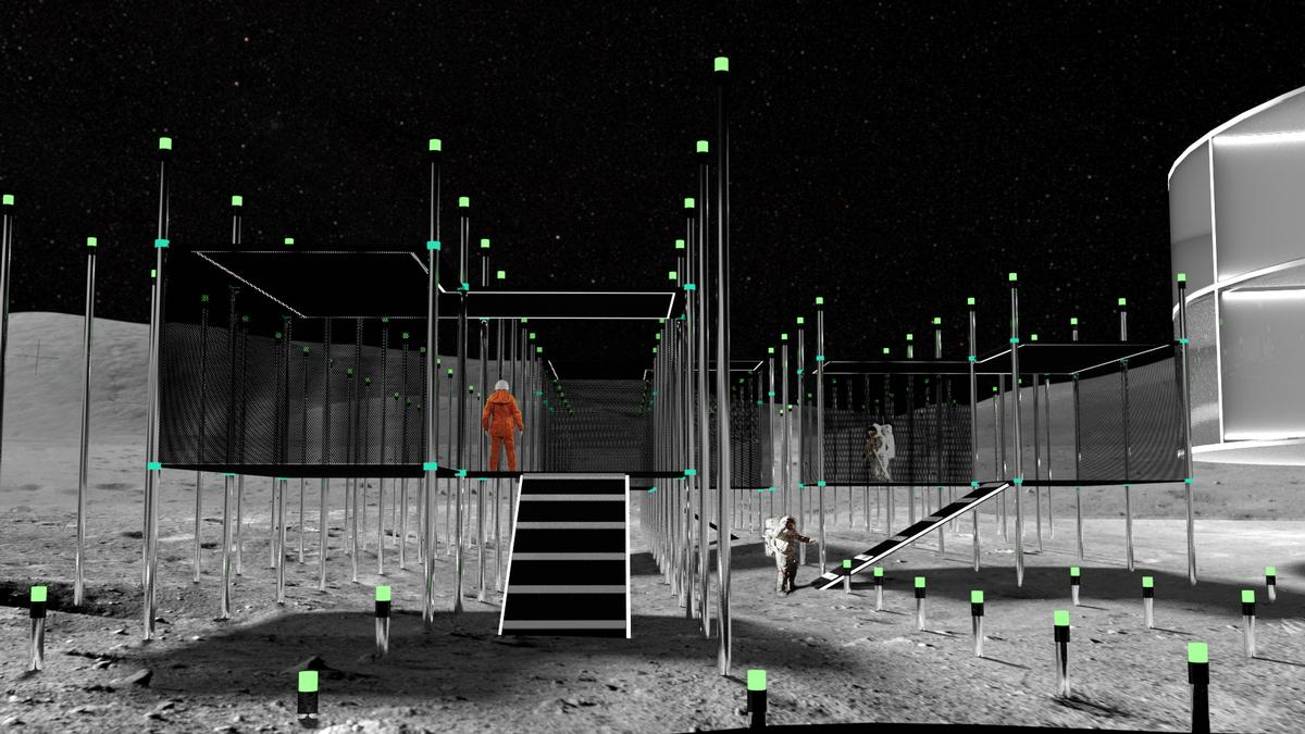 The MoCAM plan is a response to 'the inevitable creation of human communities on the Moon in the near future' / MoCAM