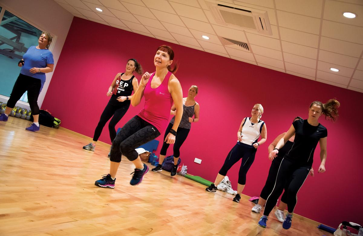 Go! Active at The Arc has two new group exercise studios