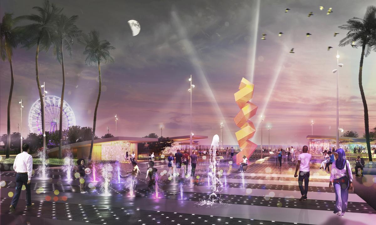 winning design selected for 5km leisure trail on coast of