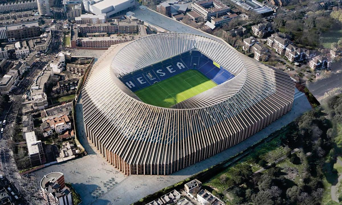 Herzog and de Meuron have designed the stadium / Chelsea FC