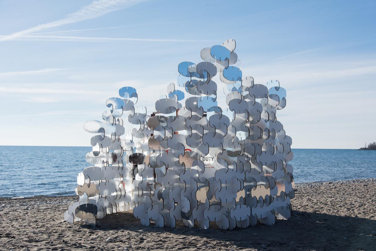 Upended forest, water bottle whale and Japanese foot spa feature as ...