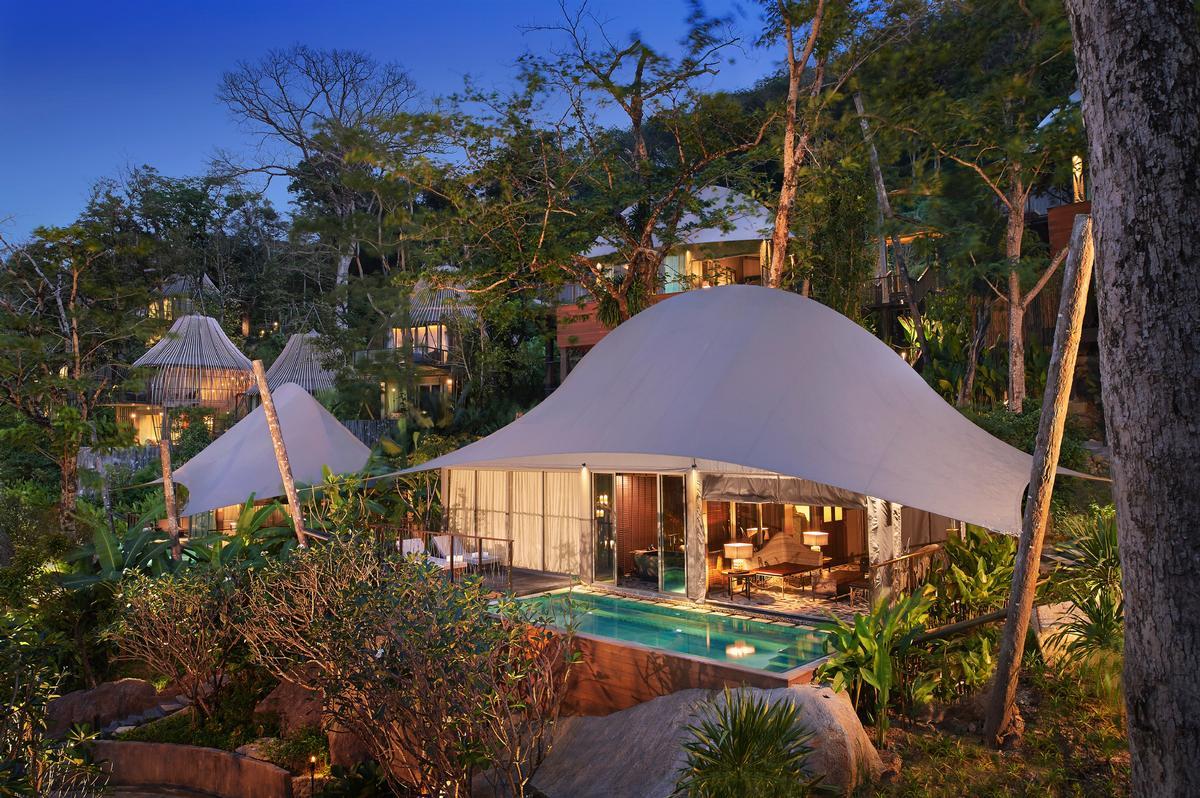 Keemala hotel, Phuket, with landscapes designed by Stone Design / AHEAD