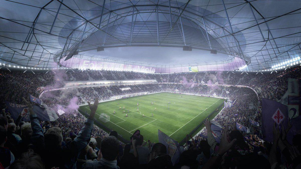 The stadium will replace Fiorentina's current Stadio Artemio Franchi / Arup