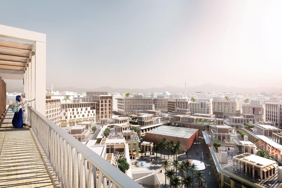 Madinat Al Ifran, Muscat, Oman, designed by Allies & Morrison