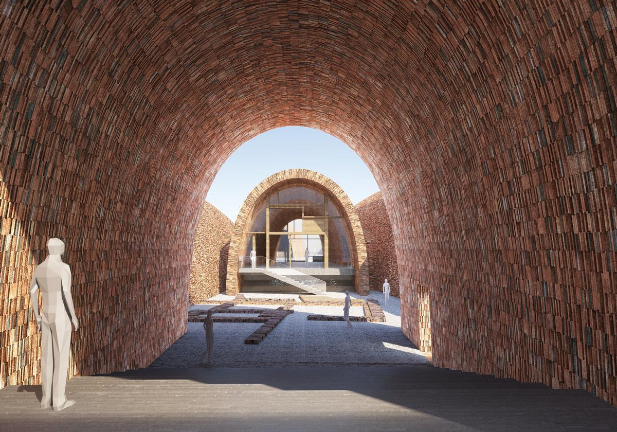 Museum of Imperial Kiln, Jingdezhen, China, designed by Studio Pei-Zhu