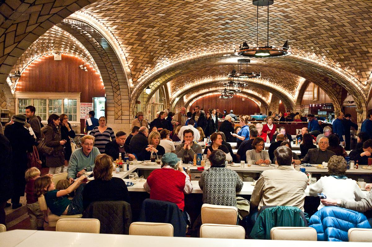 The Grand Central Oyster Bar And Restaurant In New York Has Won Design Icon Award