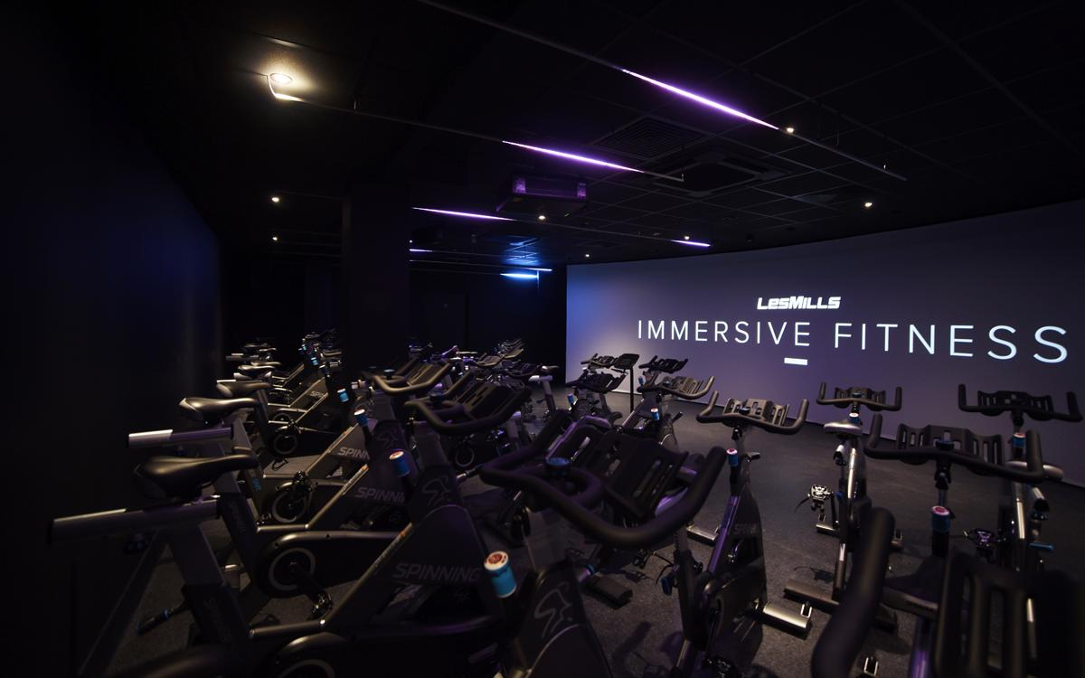The centre is the first owner-operated local authority facility in the country to offer a full Les Mills Immersive Studio
