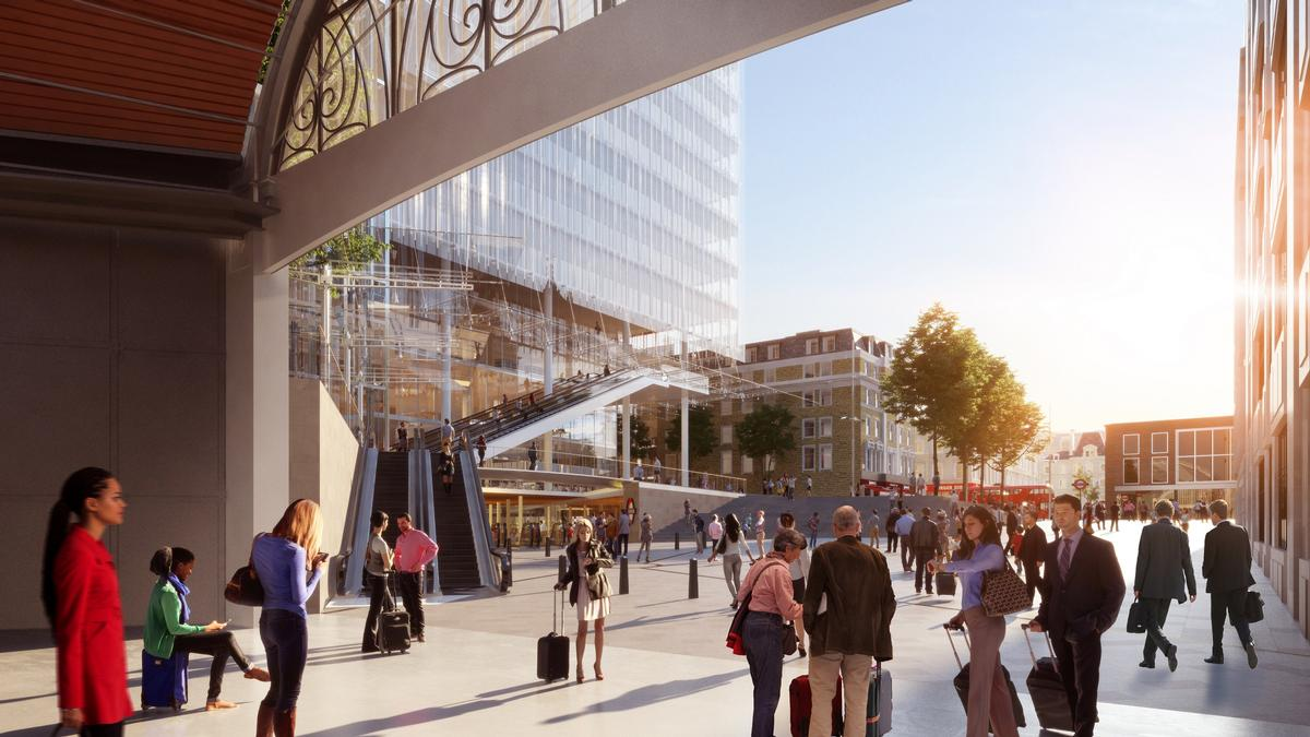 The 14-storey Paddington Cube will replace the former Royal Mail sorting office next to Paddington Station / Sellar Property Group