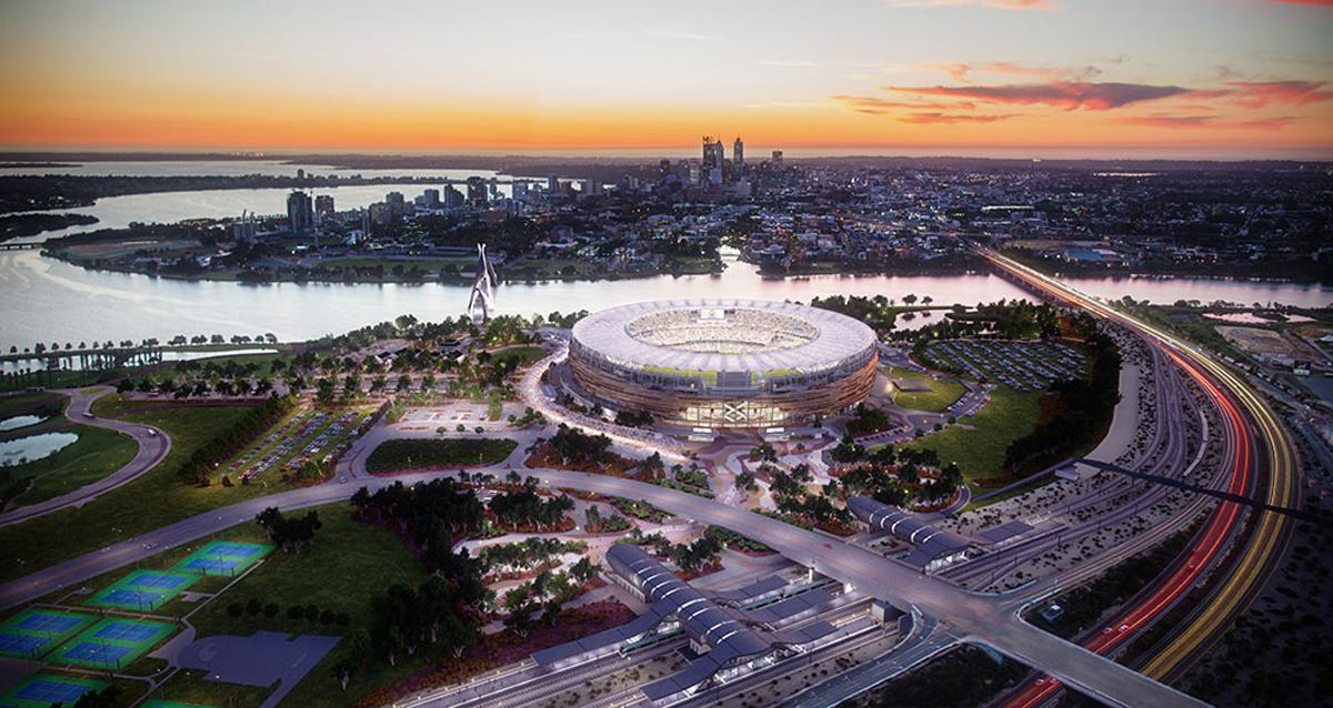 New Perth Stadium could host 2022 Commonwealth Games