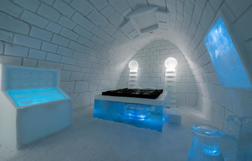 Dr Frankenstein's laboratory recreated by Karl-Johan Ekeroth & Christian Strömqvist / PHOTO: Christopher Hauser