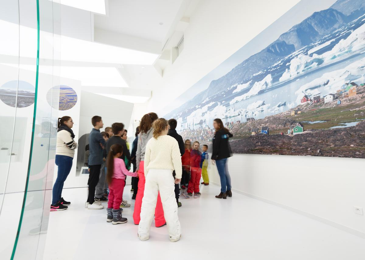 "Described as ""a new spot for knowledge and recreation"" in the Jura mountains, Polar World is dedicated to telling stories of the Arctic and Antarctica / Espace des Mondes Polaires"