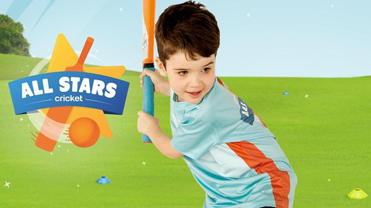 Children will receive packs with bats and balls