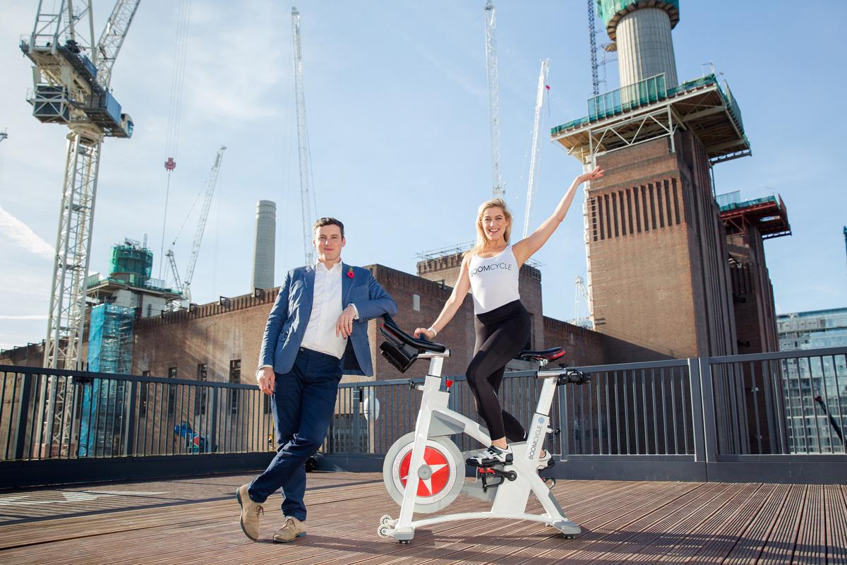 Boom Cycle was founded by Hilary and Robert Rowland in 2011