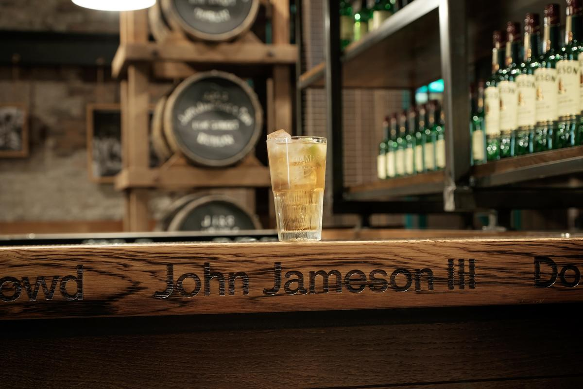 The new-look 'Jameson Distillery Bow St.' brand home in Dublin tells the story of the historic company