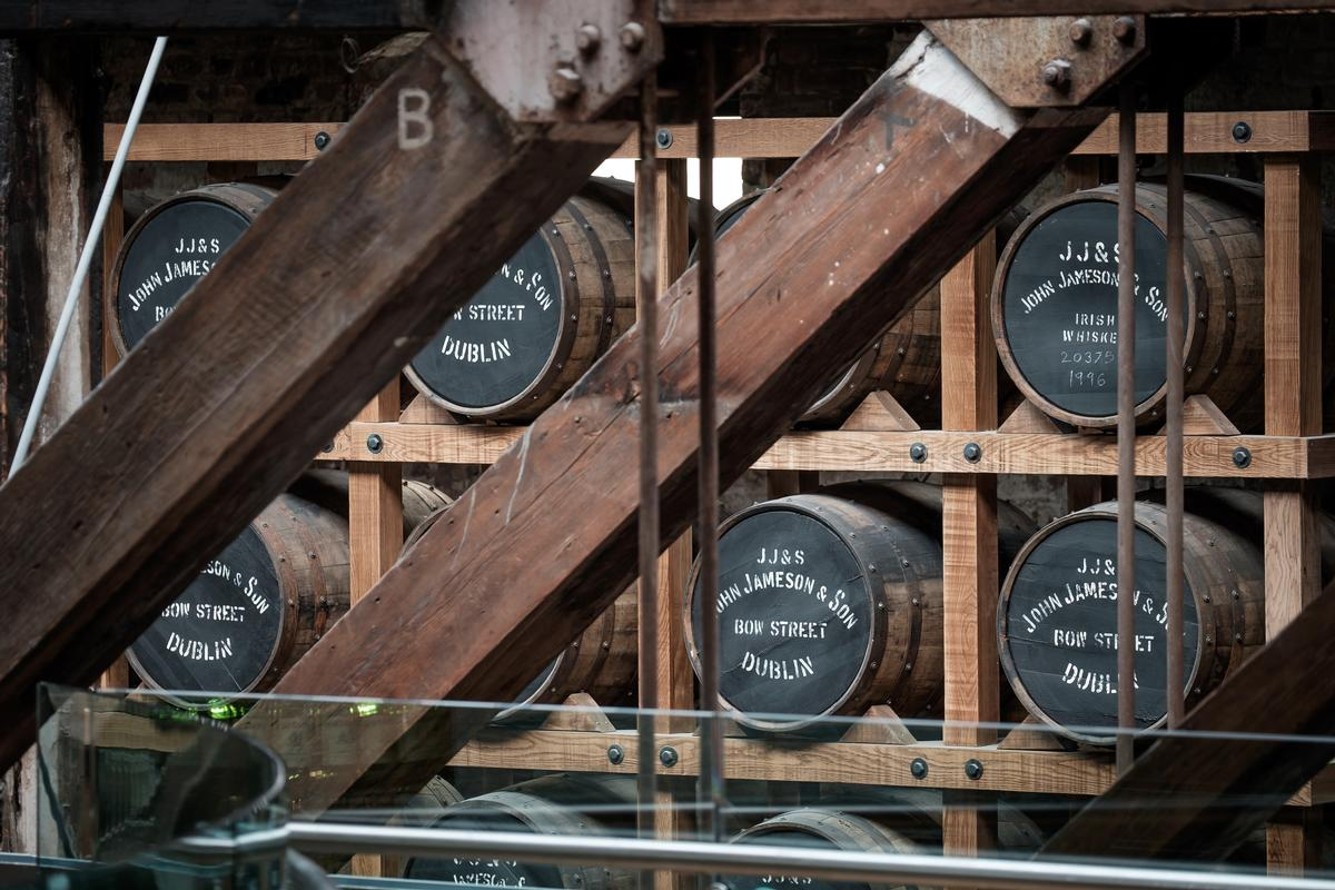 The launch supports Ireland's Whiskey Tourism Strategy – an initiative targeting three times the number of Irish whiskey tourists by 2025