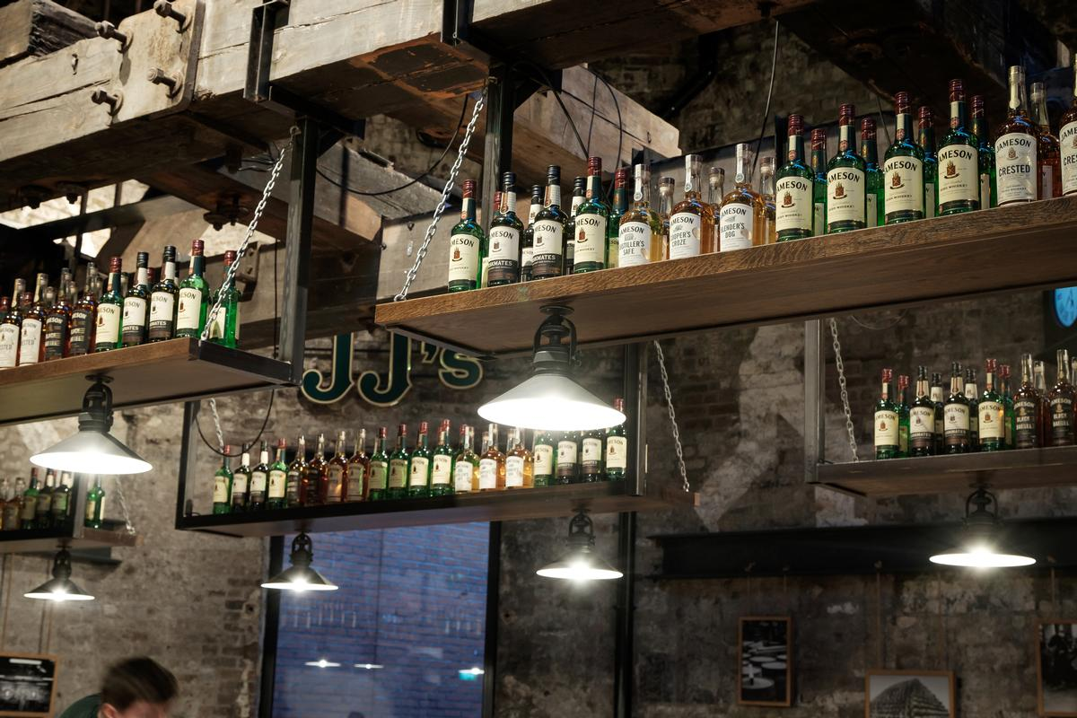 Each year, more than 600,000 tourists pass through Irish whiskey visitor centres