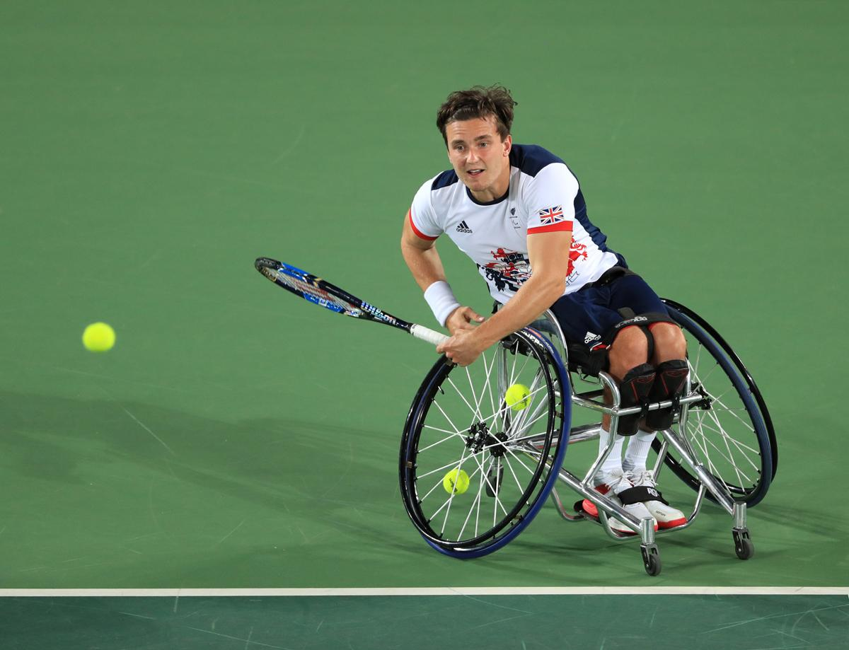 Gordon Reid won gold during the Rio 2016 Olympics / Adam Davy/PA Archive/PA Images