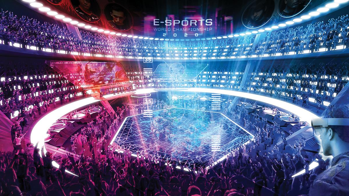 Flexible, purpose-built eSports arenas could be just a few years away from becoming reality / Populous