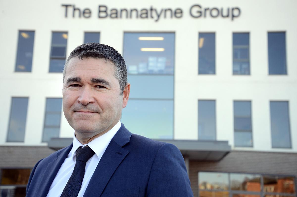 "Justin Musgrove is ""delighted to welcome Virgin Active Humberston members and staff to the Bannatyne Group"""