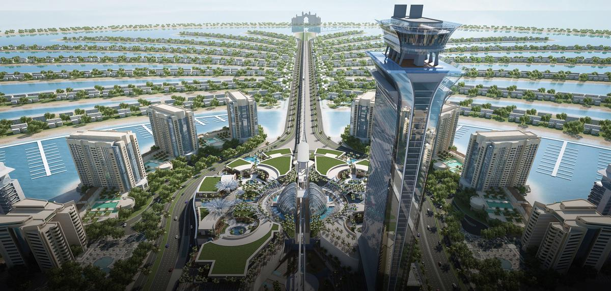 The Palm Tower Designed By US Studio RSP Architects Planners Engineers Is One