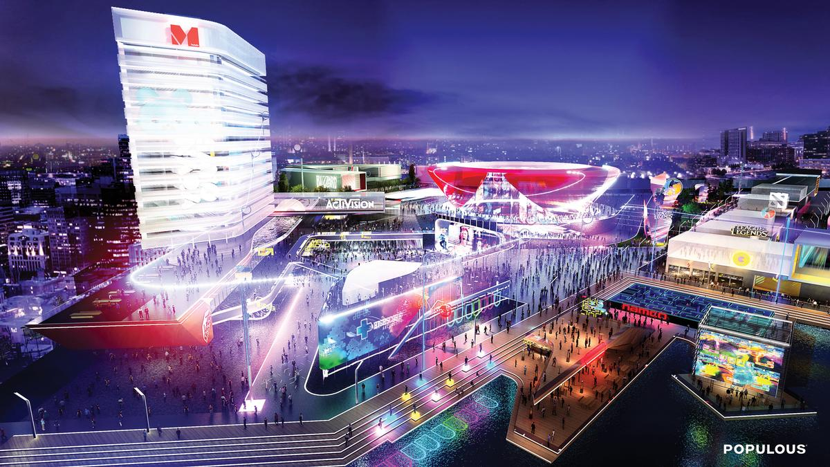 Populous' vision of the eSports arena of the future / Populous