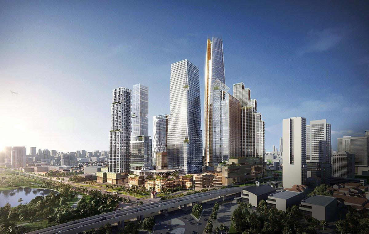 SOM reveal designs for mammoth Bangkok district