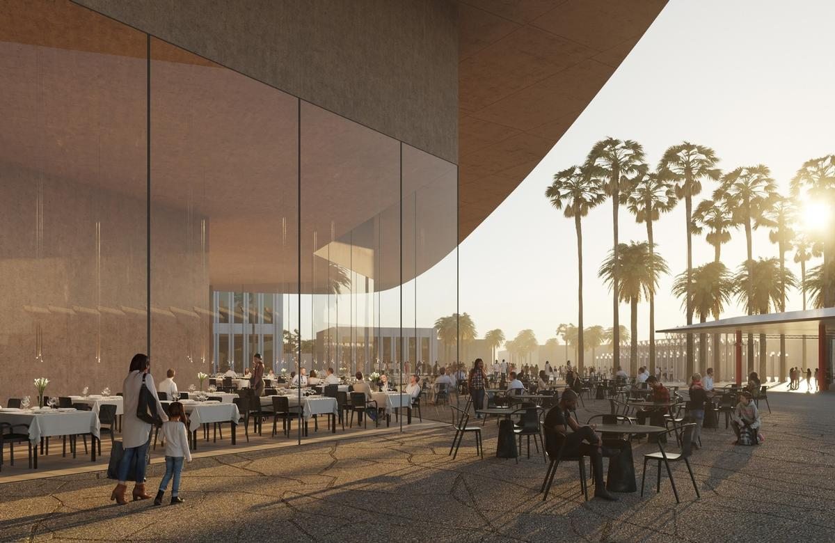 Glass will still be used heavily to create a feeling of semi-transparency / Atelier Zumthor/LACMA