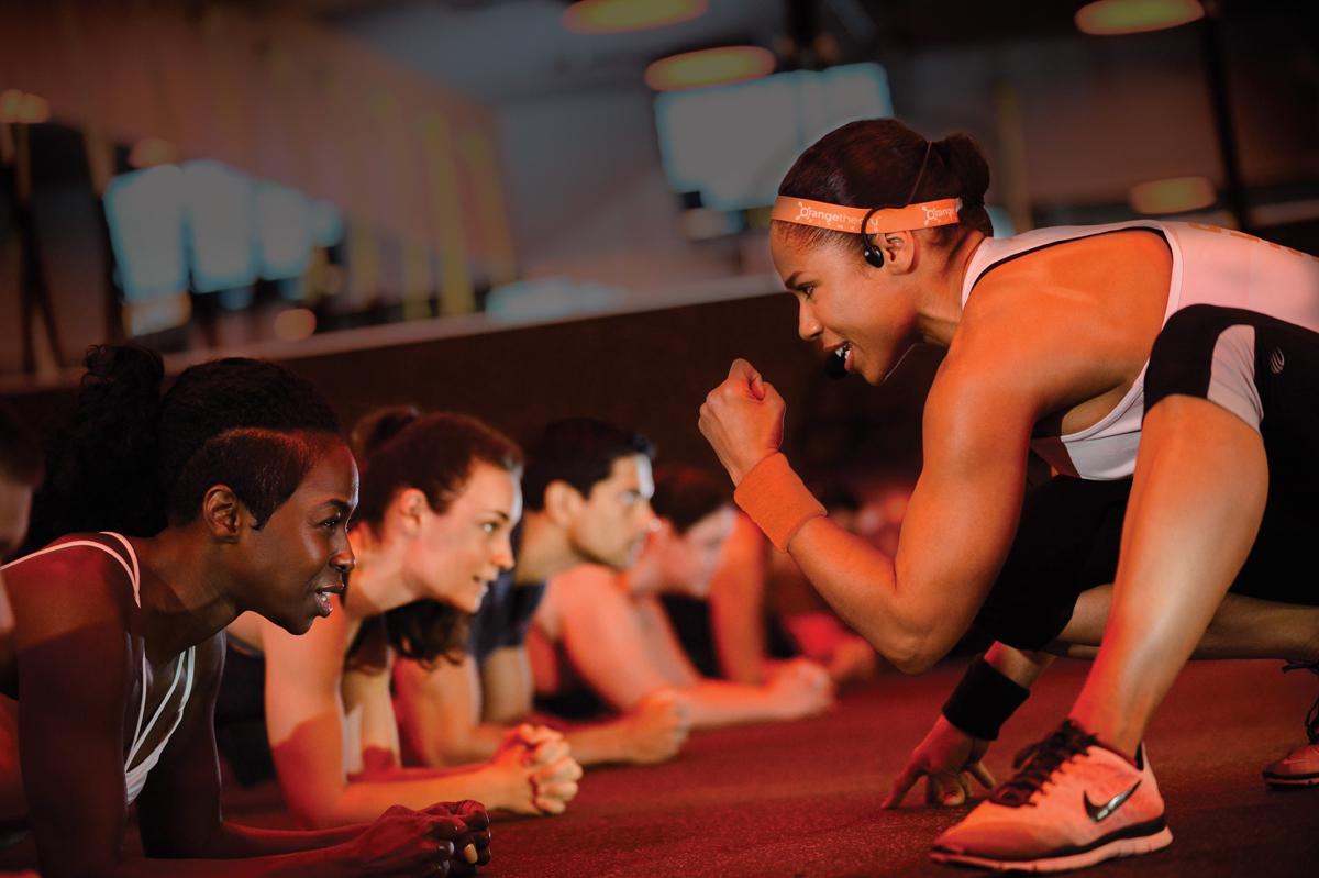 There are four Orangetheory Fitness studios in the UK