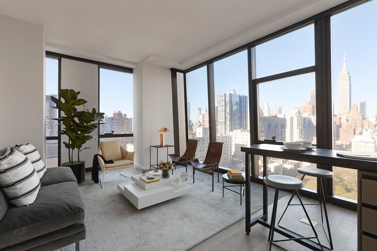 Accommodation ranges from studios to three-bedroom apartments with over 300 unique layouts / JDS Development Group