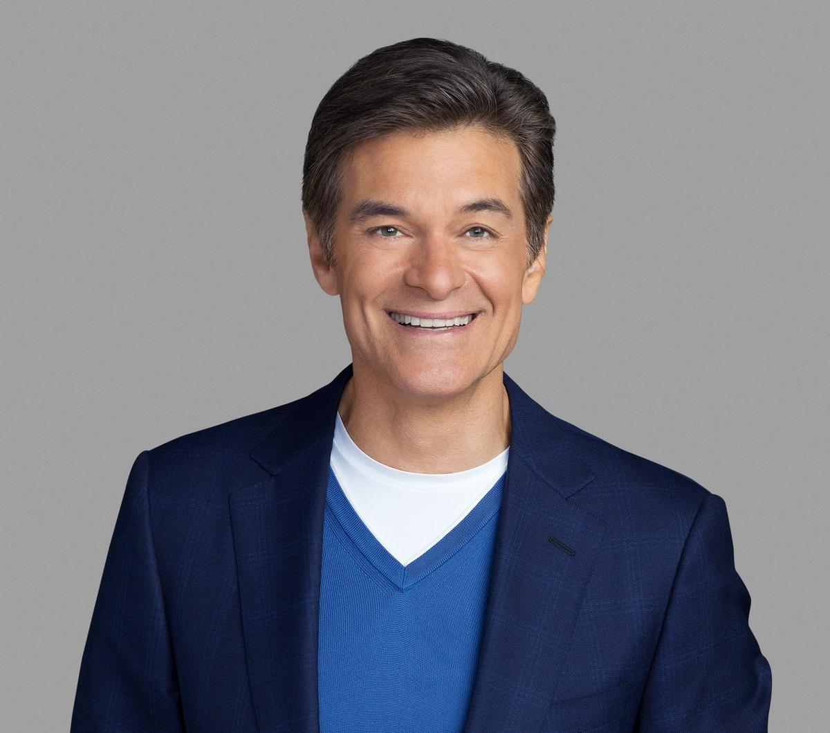 """Dr Mehmet Oz, MD, is Professor of Surgery at Columbia University and has won seven Daytime Emmy® Awards for """"The Dr. Oz Show"""""""