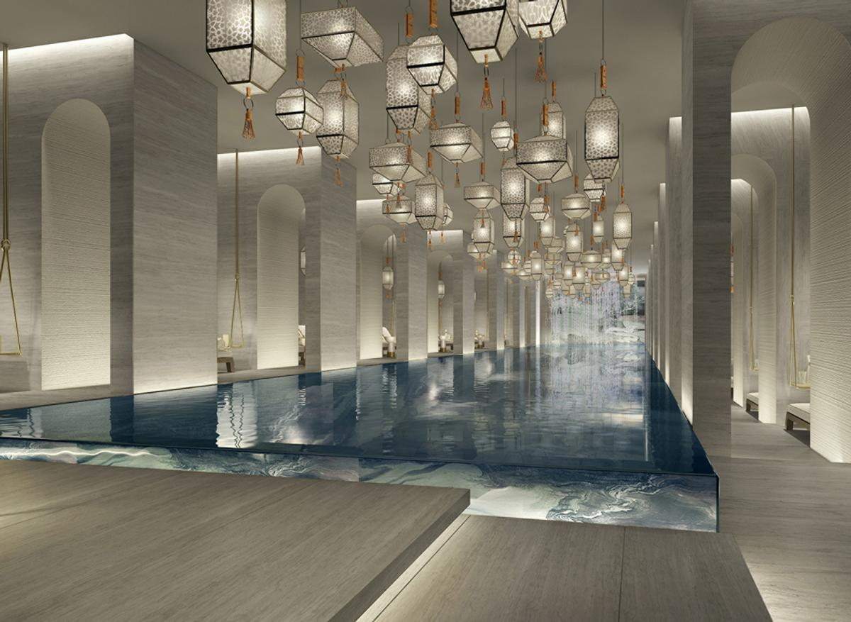 Yabu Pushelberg Create Extraordinary Two Level Spa For Upcoming