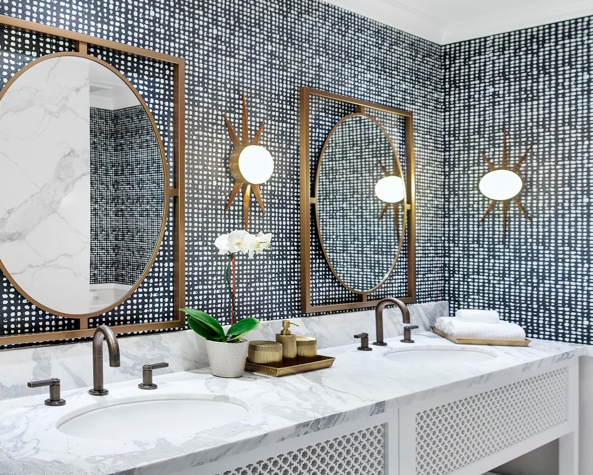 Celebrity designer Martyn Lawrence Bullard has used Moroccan and Spanish Colonial influences like indigenous tiles throughout the property