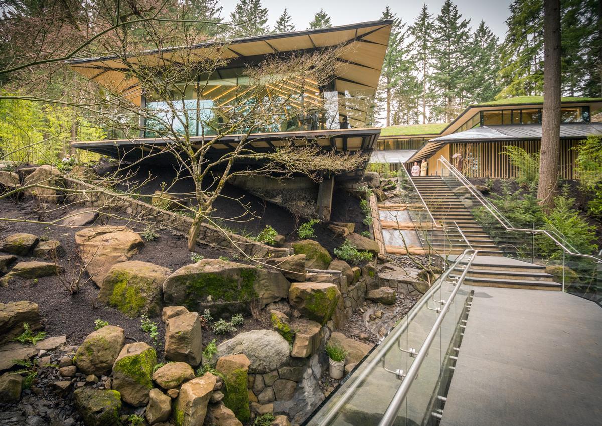 Kengo Kuma\'s Cultural Village for Portland\'s Japanese Garden opens ...