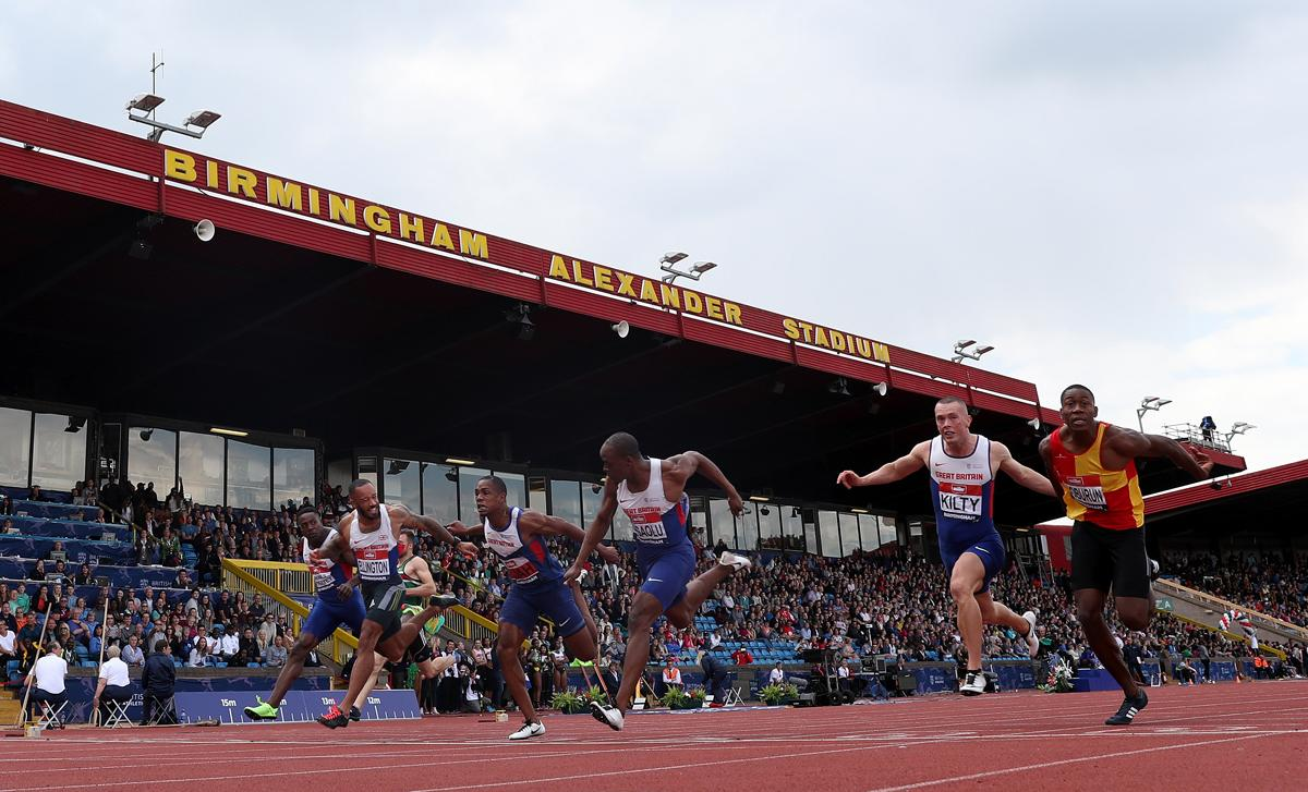 Birmingham's Alexander Stadium can currently hold 12,700 spectators / David Davies/PA Archive/PA Images