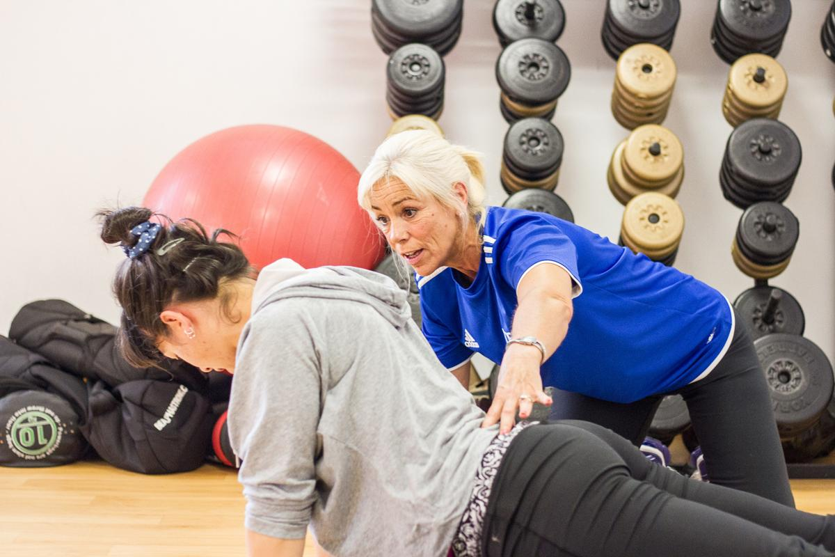 One of the Level 4 qualifications relates to managing lower back pain