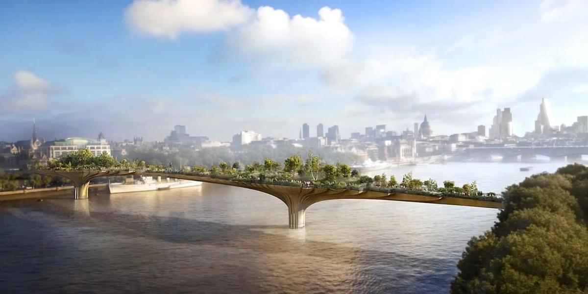 Supporters of the bridge argued it would become a new landmark for London / Garden Bridge Trust