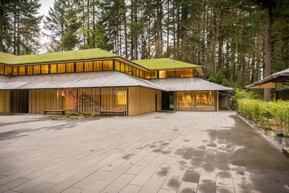 Kengo Kuma's Japanese Garden Culture Village in Portland / Bruce Forster