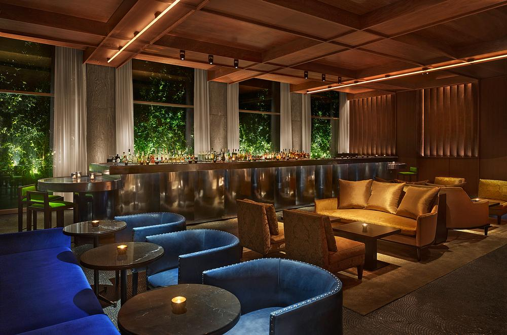 "The Ian Schrager Company designed the ""provocative and flamboyant"" interiors"