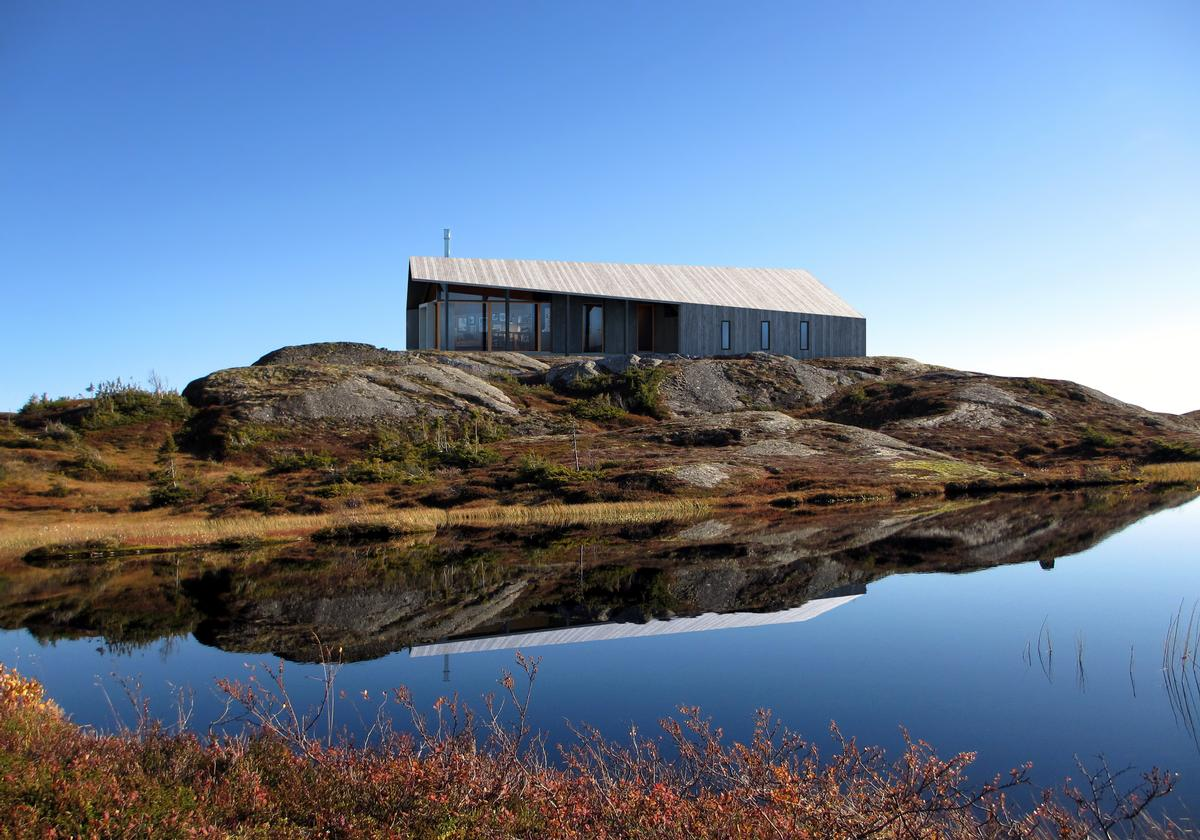 The product has been designed for Rindalshytter, Norway's leading producer of leisure homes / Snøhetta